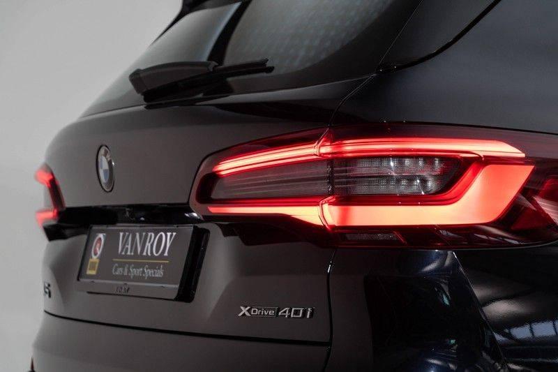 "BMW X5 M40i xDrive 340pk Panoramadak VirtualCockpit ShadowLine Sportleder+Memory Head-Up Hifi Luchtvering ACC Laserlicht AmbientLight Keyless Sportuitlaat 22"" 360Camera ParkAssist Pdc afbeelding 11"