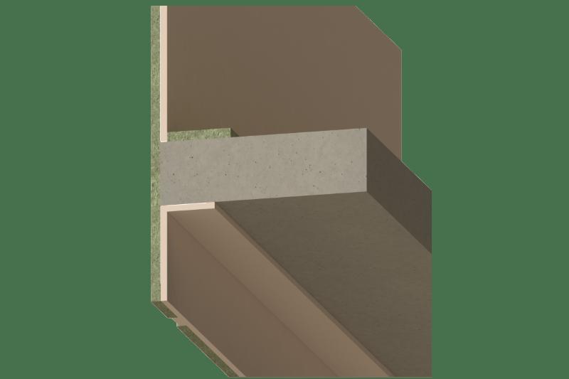 Samostalni protupožarni fasadni parapet - FSP 90