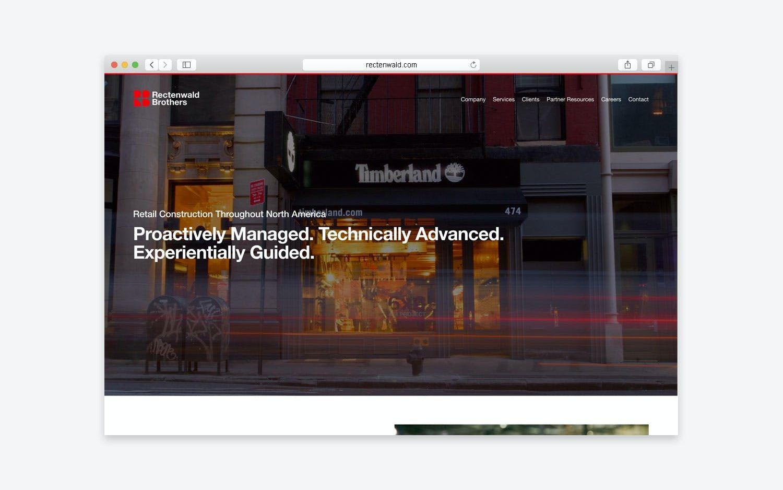 Rectenwald website - desktop view