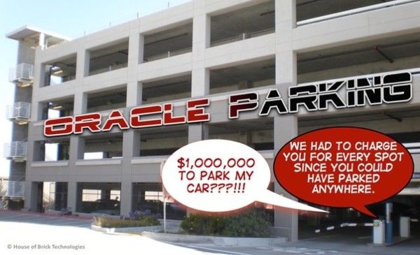 The Oracle Parking Garage