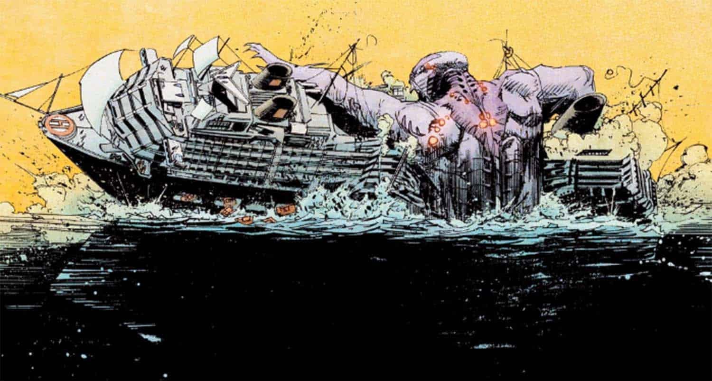 Sereio destrói barco em HQ de O Despertar da Vertigo