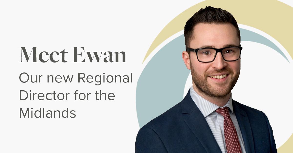 Meet Ewan, Regional Director for the Midlands