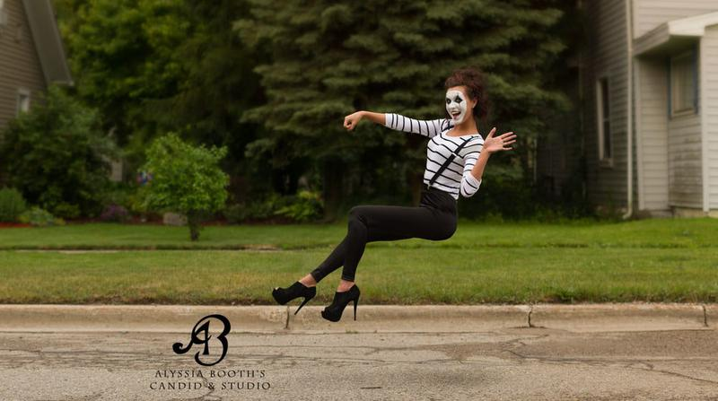 A Mime driving