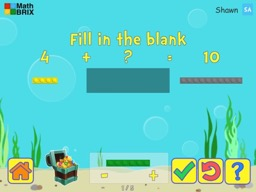 Make 10 by adding brix (friends of ten) Math Game