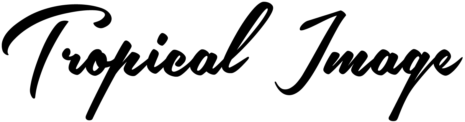 Tropical Image Logo
