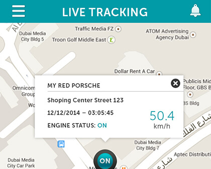IOT Vehicle Live Tracking