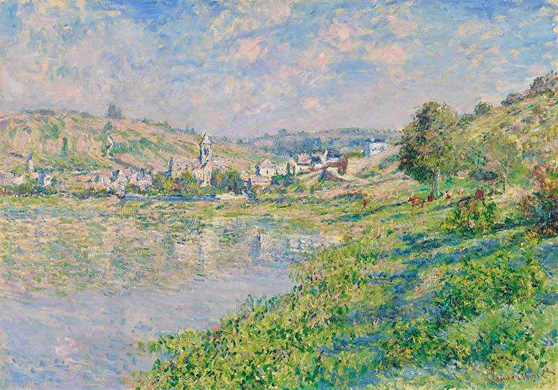 Monet's Vétheuil was sold by Christie's London for over £7.5 million in February 2018