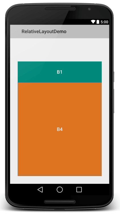 Relative Layout View 5