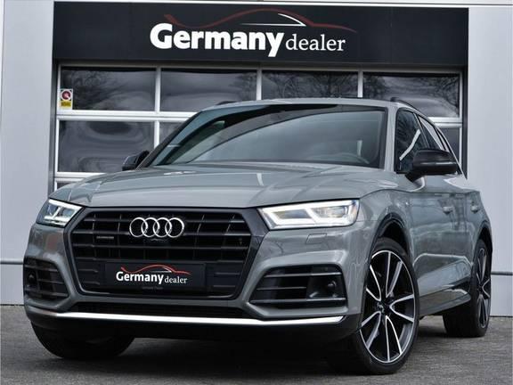 Audi Q5 3.0TDI 286 pk quattro Lucht S-Line Head-Up B&O LED Pano Standk ACC Carbon 21-Inch