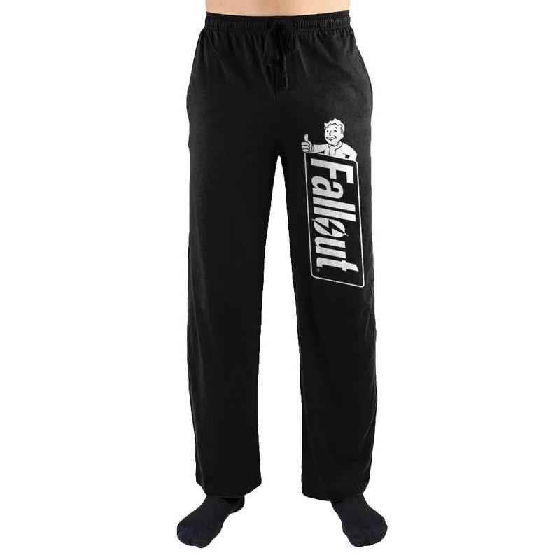 Fallout Logo Print Mens Loungewear Lounge Pants