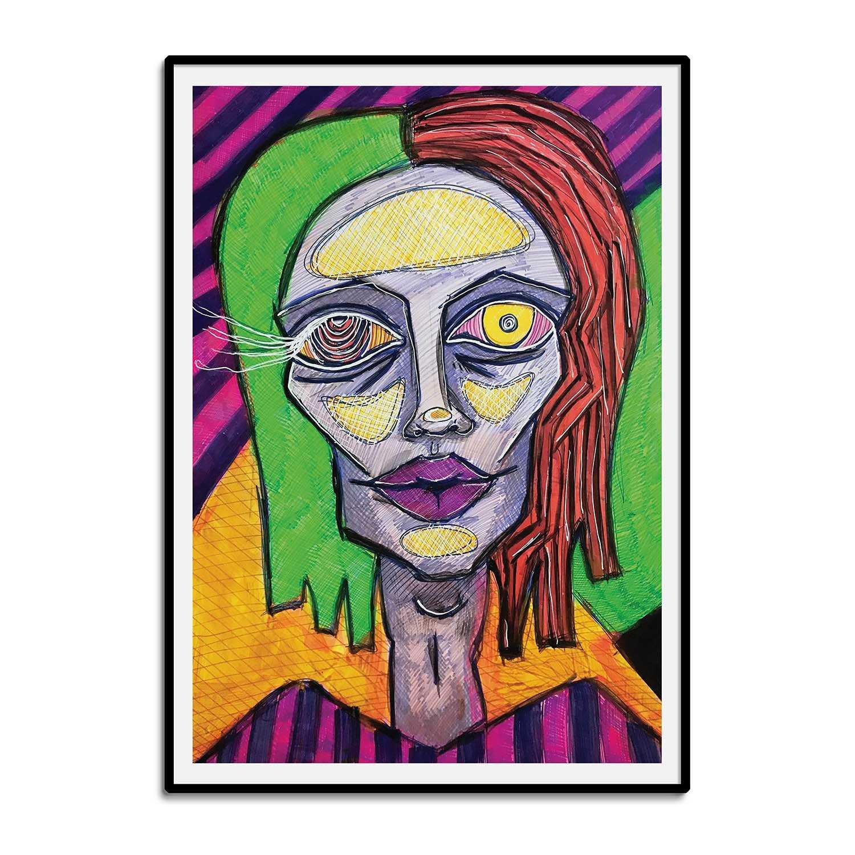 Doll FaceArt Print