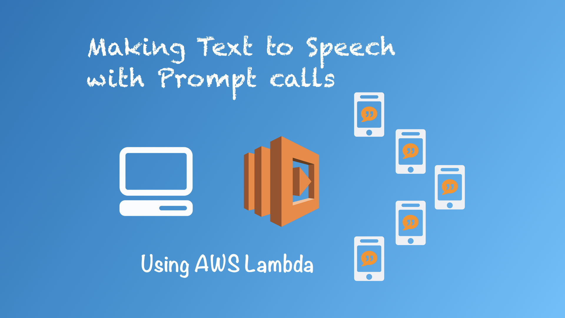 Text to Speech with Prompt Calls, Using Python on AWS Lambda