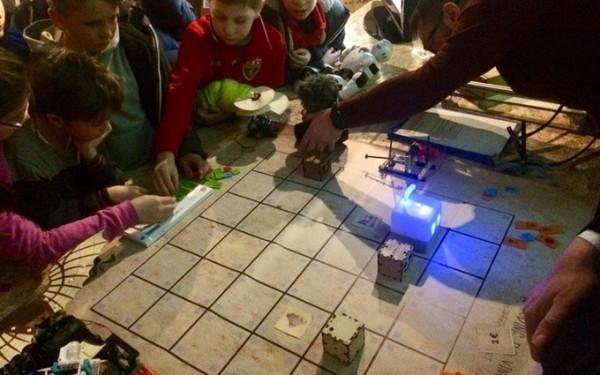 Mojobot- The World's First Tangible Coding Robot and Board Game