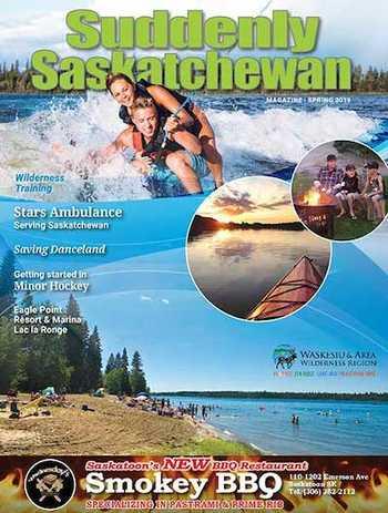 Suddenly Saskatchewan Magazine - Issue: Spring 2019