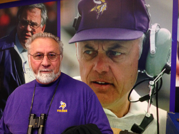 stan by coach bud grant