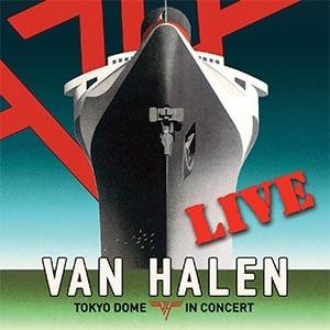 Van Halen Tokyo Dome Live in Concert Album Cover