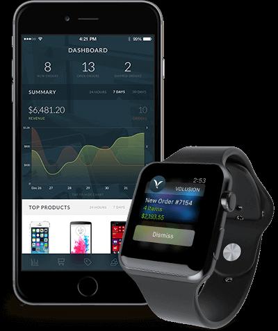 Volusion Apple Watch App