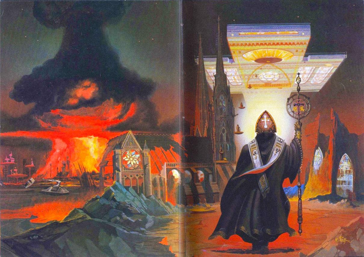 Иллюстрация с обложки книги «Гимн Лейбовицу»
