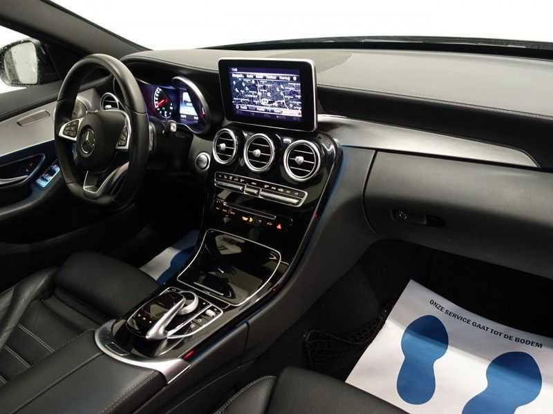 Mercedes-Benz C-Klasse 43 AMG 4M Black Series 368pk Autom- Schuifdak, Burmester, Leer, MBUX, Camera, Full! afbeelding 17