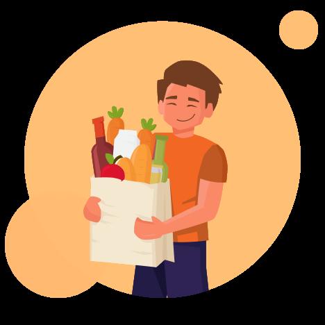 Grocery business app development