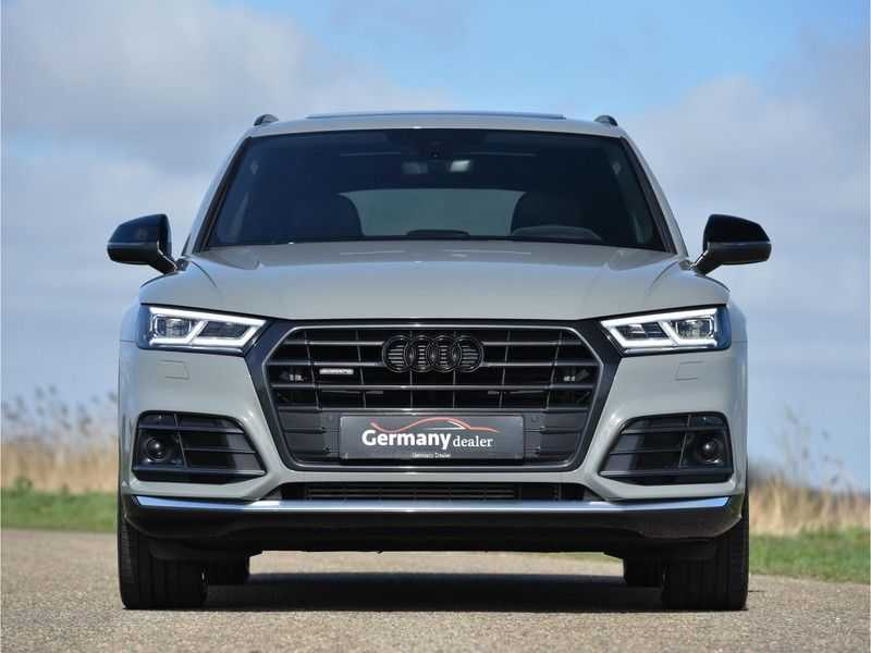 Audi Q5 2.0TFSI 252pk Quattro Black Optic Alle Opties! Lucht Tr.Haak Ruitleder Carbon Matrix Pano 20-Inch afbeelding 7