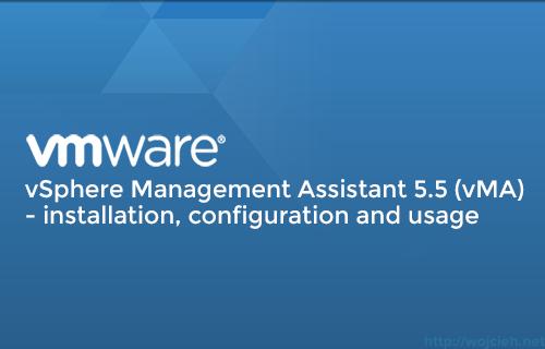 VMware-vSphere-Management-Assistant-5