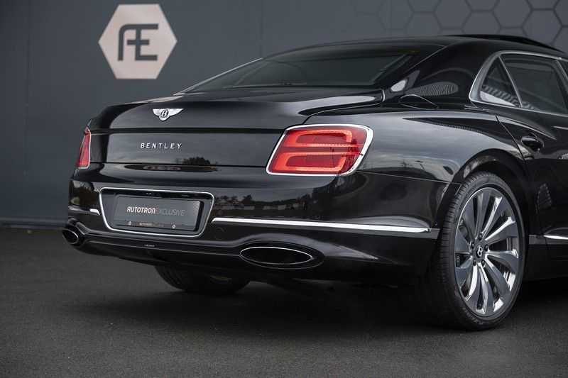 Bentley Flying Spur 6.0 W12 FIRST EDITION MY 2021 NAIM + Mulliner + Touring Spec + Head-Up + Bentley Rotating Display + Onyx Pearl / Beluga + Full Option + afbeelding 14
