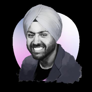 Portrait of Preet Singh