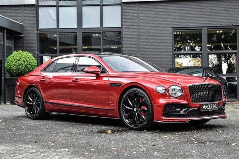 Bentley Flying Spur V8 MULLINER+CARBON+NAIM+4WSTURING+BLACKLIN afbeelding 15