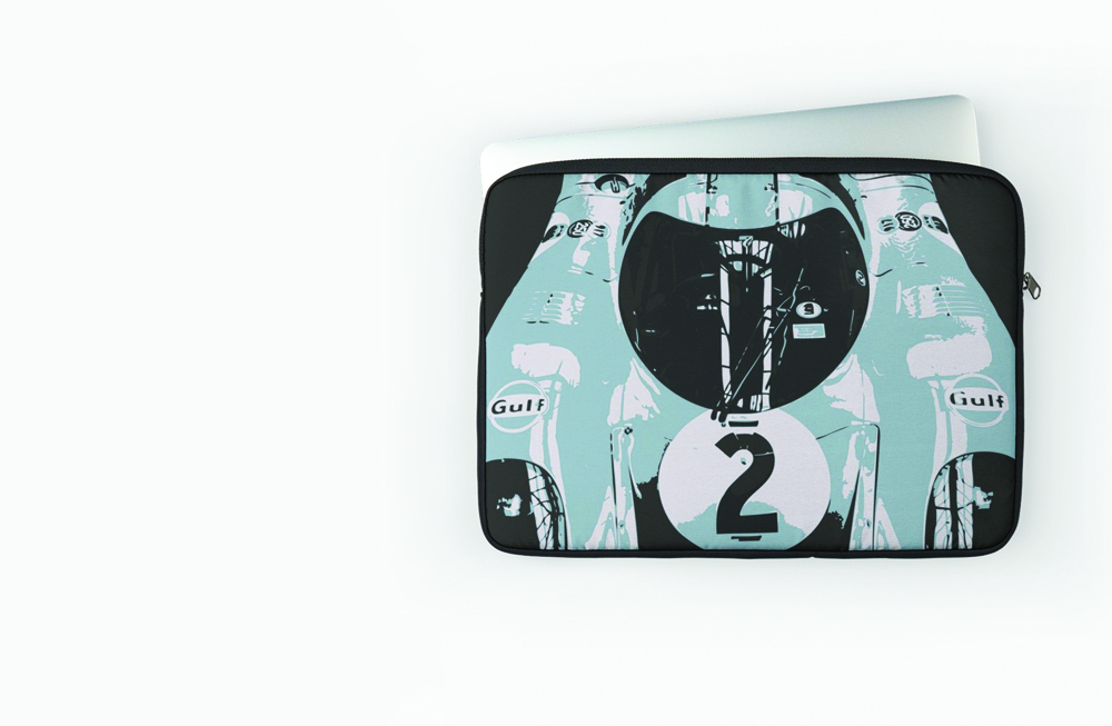Porsche 917K Laptop Sleeve by thespeedart