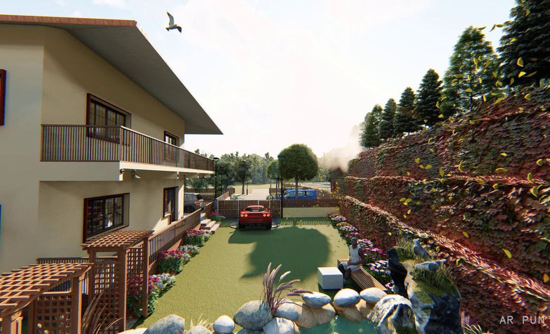 Vitrag Streamside Apartment for sale near Ooty - View of the house