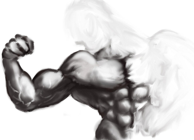 Bodybuilder Sketch