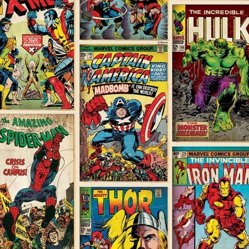 Обложки комиксов Marvel. Источник: Amazon