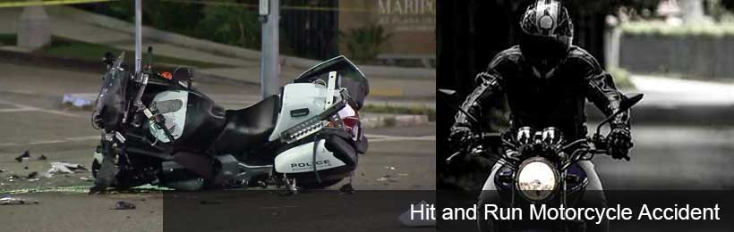 Hit and Run Motorcycle Accident