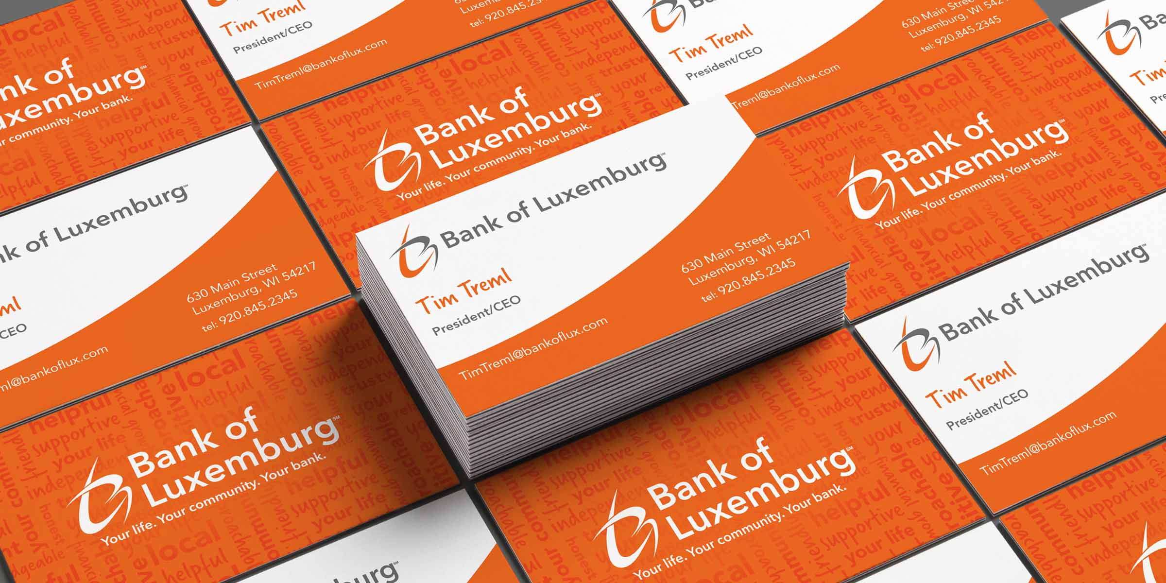 Branding for Bank of Luxemburg