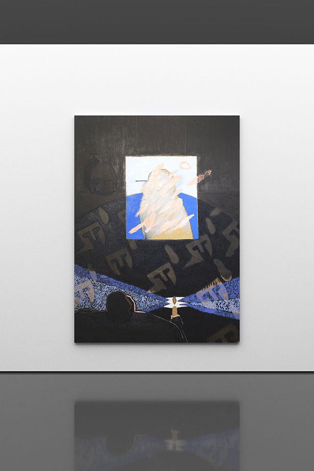 LICHT, 2019        oil on canvas        220 × 160 cm