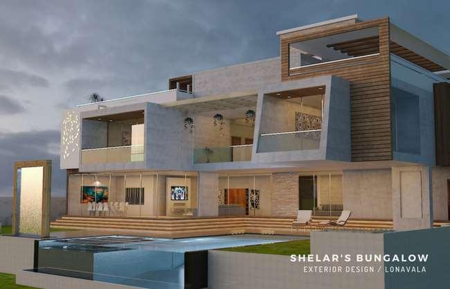 Shelar's Bungalow Exterior Design Lonavala