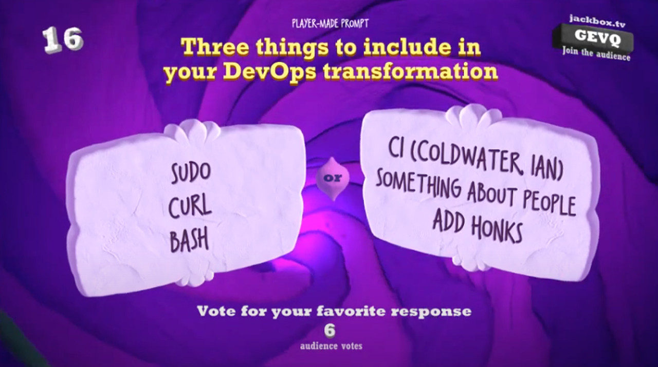 DevOps Party Games A New Challenger Appears (EMEA)
