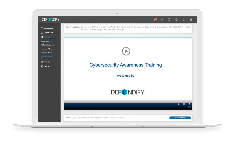 Awareness Training Webinars
