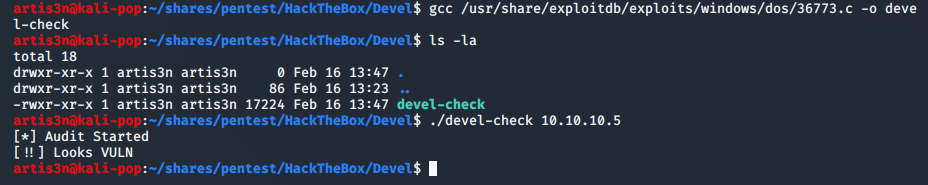 compile-check