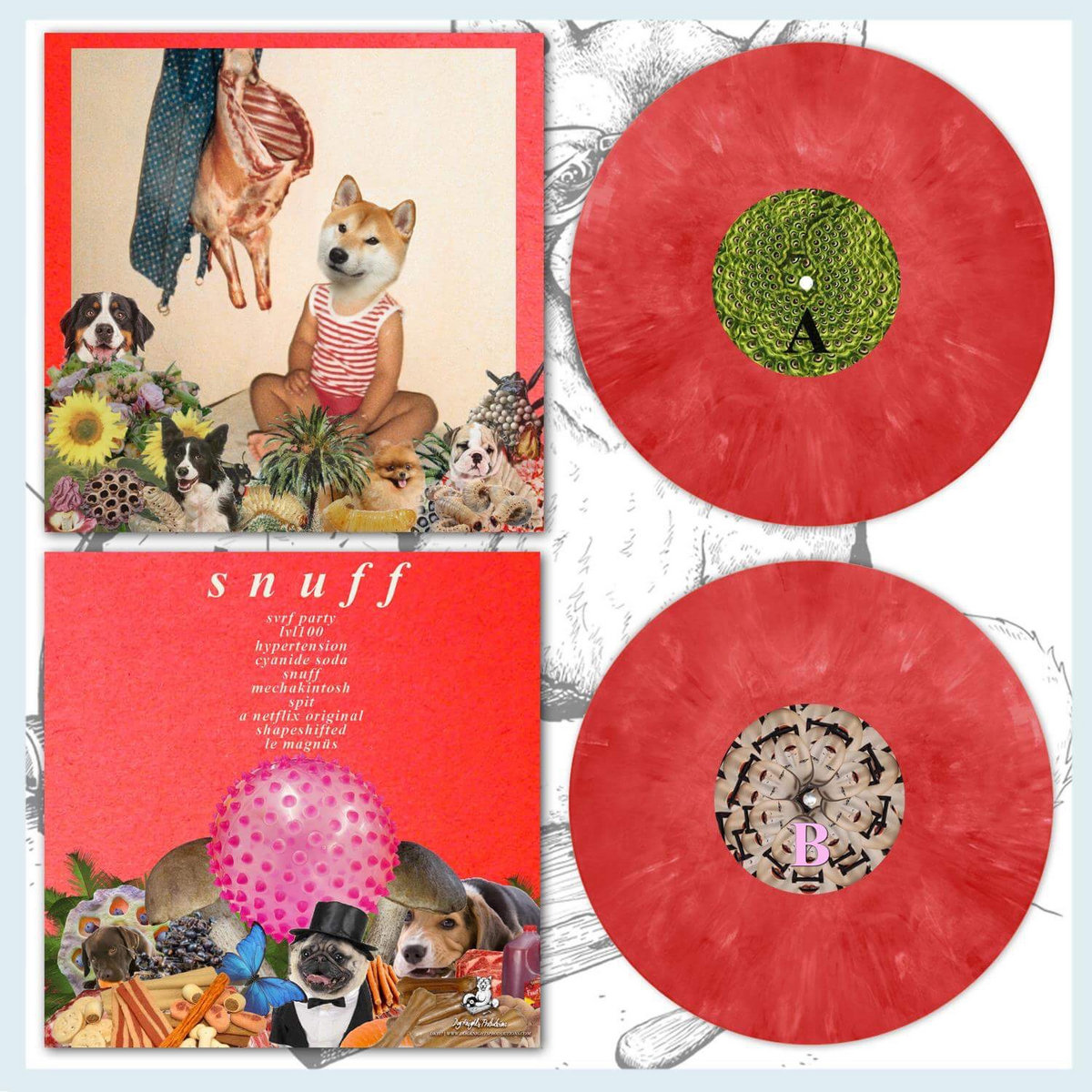 Snuff Red LP