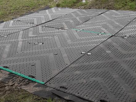 Safe Mats for Archaeological Dig – Birmingham