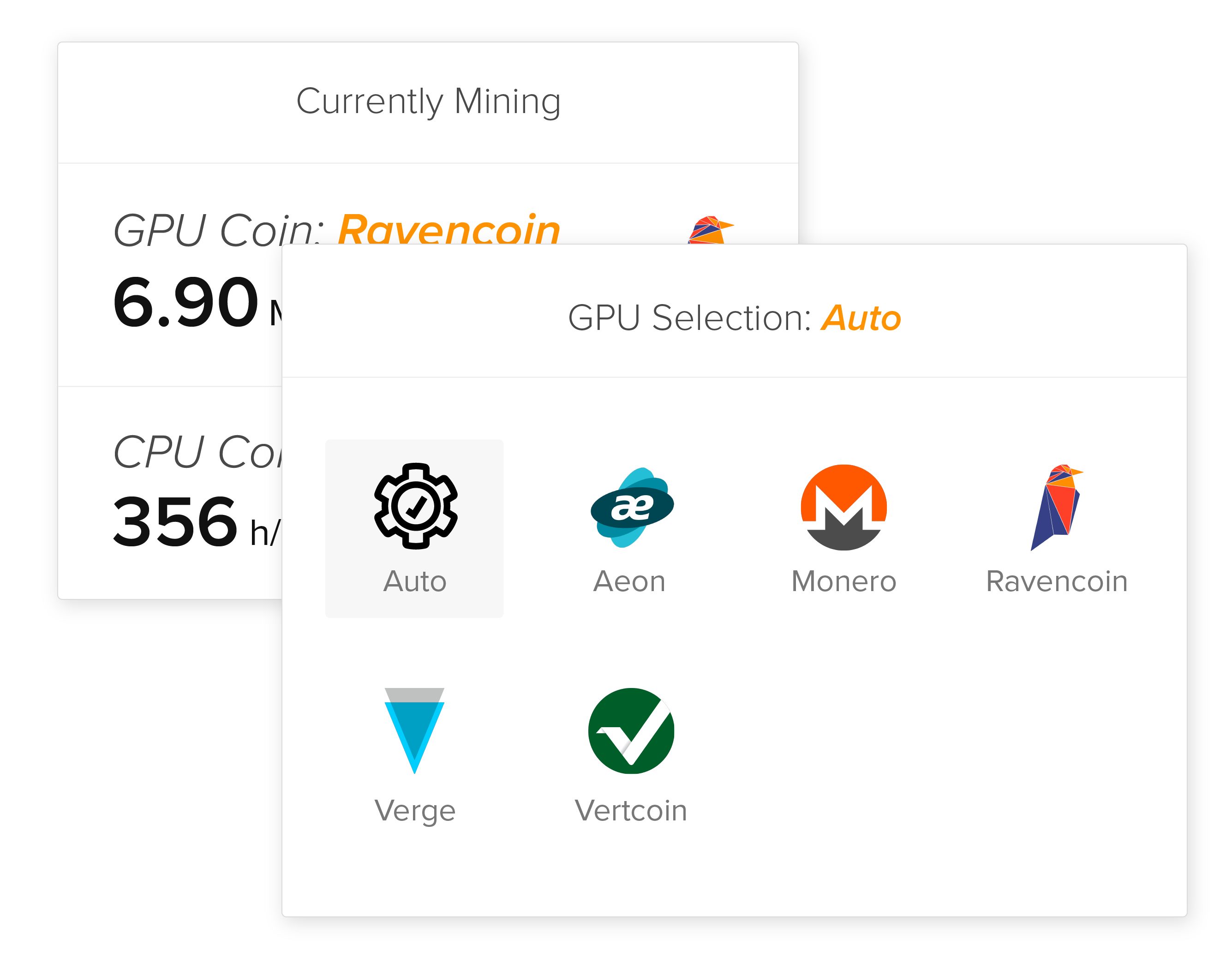 Cryptocurrency Mining Software | GUI GPU Multiminer