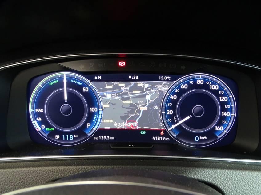 Volkswagen e-Golf e-Golf Marge! LED Navigatie Clima Cruise Warmtepomp Virtual CP Camera *tot 24 maanden garantie (*vraag naar de voorwaarden) afbeelding 14