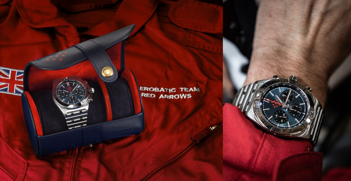 Red Arrows x Breitling