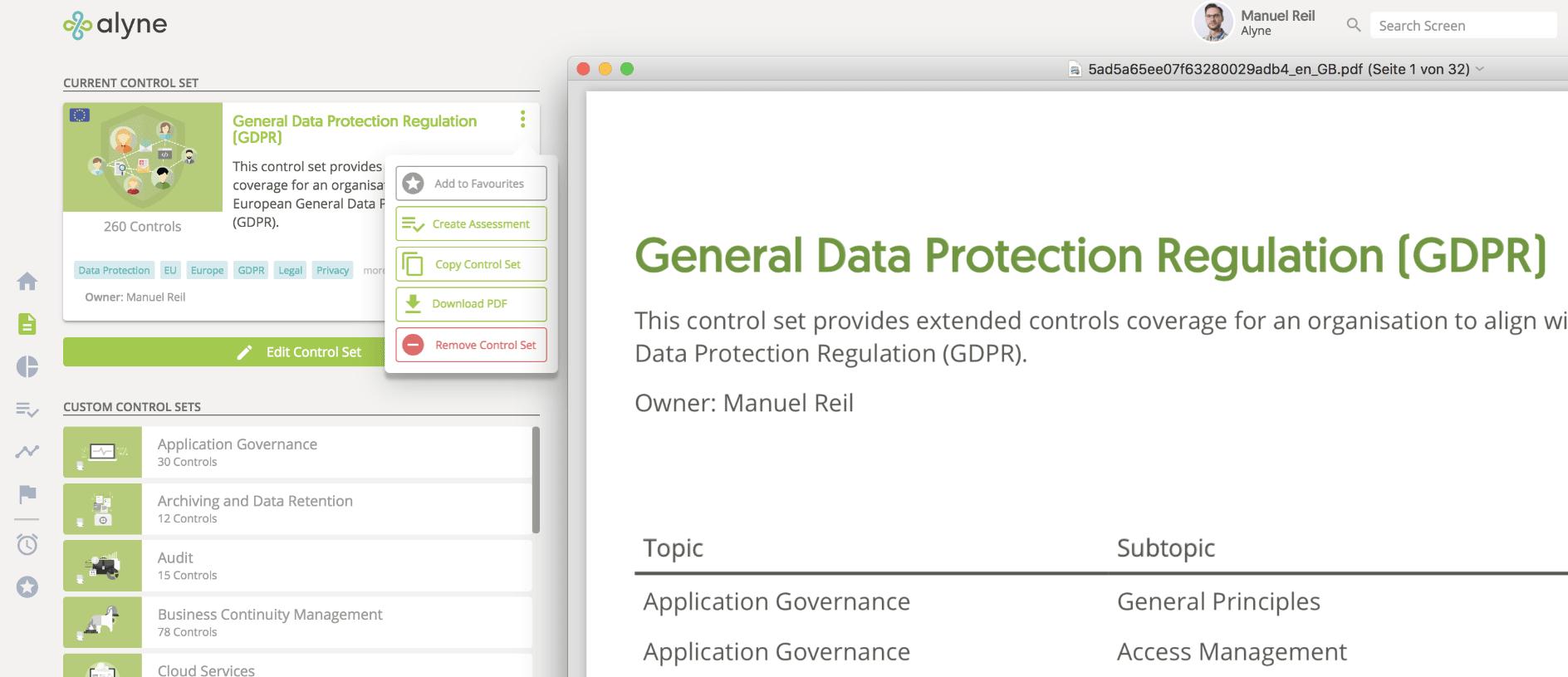 Control Set PDFs