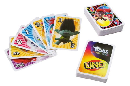 Trolls World Tour Uno Card Images