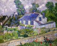 Houses at Auvers by Vincent Van Gogh, 1890, Toledo Museum of Art