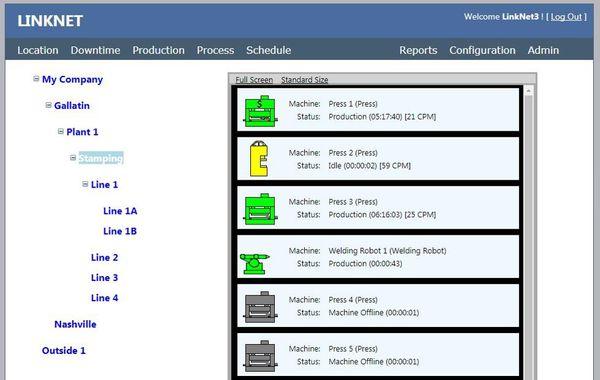 LinkNet 3 Shop Floor Data Collection photo