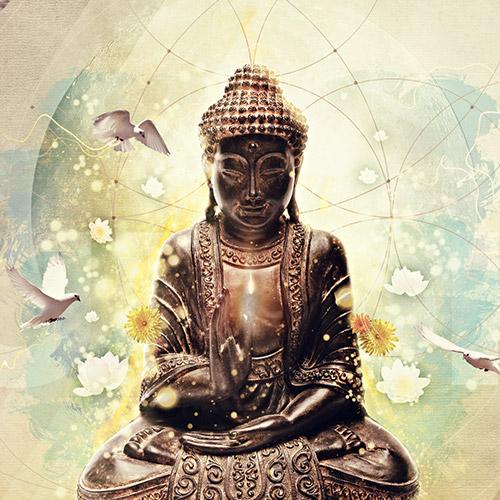 Graphic: Buddha